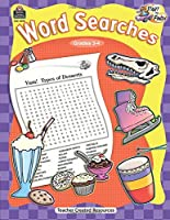 Start to Finish: Word Searches Grd 3-4: Word Searches Grd 3-4