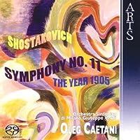 Symphony No 11 They Year 1905 by OLEG CAETANI (2006-01-24)