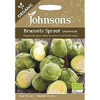 JOOG 英国ジョンソンズシード Johnsons Seeds ORGANIC Brussels Sprout GRONINGER ブリュッセルズ・スプラウト(芽キャベツ)・フローニンゲン ジョンソンズシード