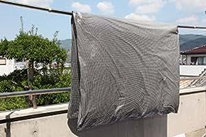 布団干し袋(デュポン社タイベック使用) 【シングル用】(花粉や粉塵・排気ガスから布団をガード)