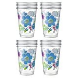 日本デキシー プラスチックカップ キュンキュンフルールプラカップ 300ml 20個