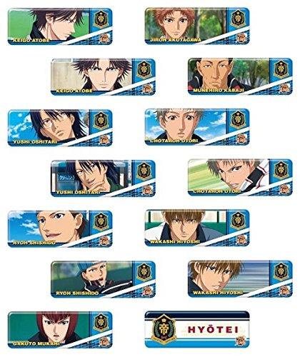 エンスカイ ロングカンバッジコレクション 新テニスの王子様 氷帝 BOX商品 1BOX=14個入り、全14種類