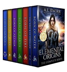 Elemental Origins: The Complete Series: (Water, Fire, Earth, Air, Aether, Ensemble Novel) by [Knorr, A.L.]