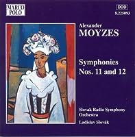 Moyzes: Symphonies 11 & 12 (2002-07-28)