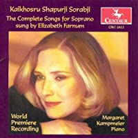 Sorabji:Comp Songs for Soprano