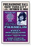 ポスター アレサ フランクリン アレサ フランクリン、ニューヨーク、1968