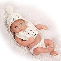 NPK 10インチ/ 26 cmソフトフルボディシリコンビニールRealistic Rebornベビー人形Lifelike新生児少年人形