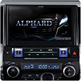 アルパイン(ALPINE) アルファード30系(トヨタ)専用カーナビ 10型【ブラックキー/ホワイトイルミ】 EX10-AL-B