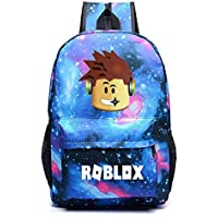 Kids Roblox Backpack Student Bookbag Laptop Bag Travel Computer Bag for Boys Girls Teens Game Fans Gifts