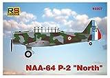 RSモデル 1/72 フランス空軍 NNA-64 P-2 ノース プラモデル 92207