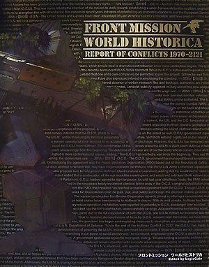 FRONT MISSION WORLD HISTORICA—REPORT OF CONFLICTS 1970‐2121