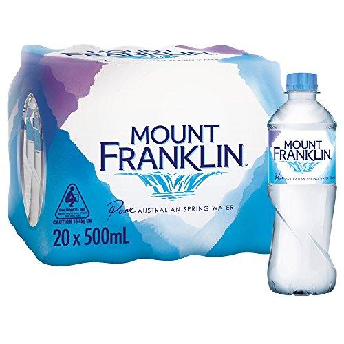 Mount Franklin Still Water 20 x 500 mL
