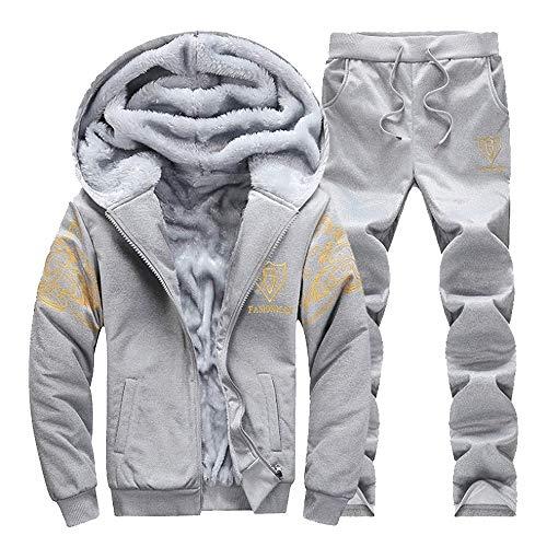 Mimoonkaka メンズ コート ジッパー セーター ジ...
