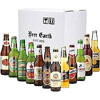 世界のビール 12カ国12本 飲み比べセット 全品正規輸入品【エルディンガーヴァイスビア、バスペールエール、ドレハー、シンハー 、コロナ 333 他全12種】 輸入ビールギフトセット