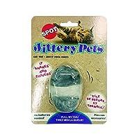 Ethical Plush Jitteryマウス猫おもちゃ、3-inch