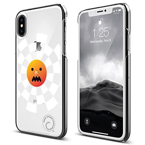iPhone X ケース elago Smart Spinner [ iPhoneがスピナーに大変身 !? まるで ハンドスピナー !? ] おもしろ デザイン カバー [ iPhoneX ケース ( 10 ) 専用 ] トーマス