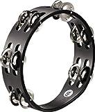 MEINL Percussion マイネル タンバリン Compact Wood Tambourine Nickel Plated Steel Jingles 2rows CTA2S-BK 【国内正規品】