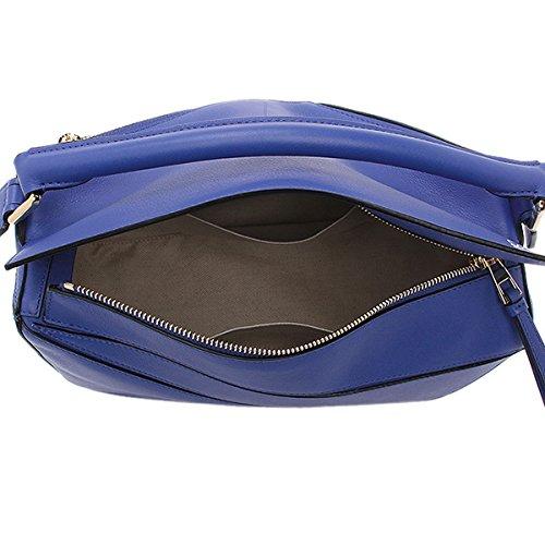 (ロエベ) LOEWE ロエベ バッグ LOEWE 322 30 K74 5560 パズル PUZZLE BAG ショルダーバッグ ELECTRIC BLUE [並行輸入品]