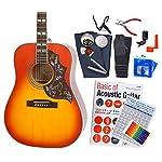 Epiphone エピフォン アコギ Hummingbird Pro アコースティックギター 初心者 ハイグレード 16点 セット 〔98765〕