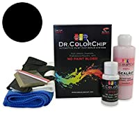 Dr。ColorChip Ducati 848 Motorcycleペイント Squirt-n-Squeegee Kit ブラック DRCC-2085-18410-0001-SNS
