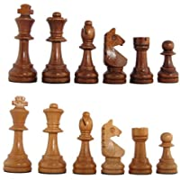 3 1/2'' French Staunton Chess Pieces