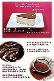 クリスマスケーキ 2017限定 生チョコレートレアチーズケーキ 【ローソク・Xmasプレート・柊・手紙・無料】