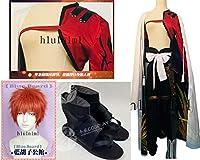 コスプレ衣装 Fate/Grand Order 千子村正+マント+ 靴 +ウィッグ