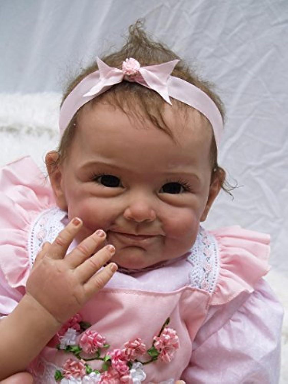NPK collection Rebornベビー人形Realisticベビー人形22インチビニールシリコン赤ちゃん人形Newborn Realベビー人形Cute Boy Lifelike人形ギフト