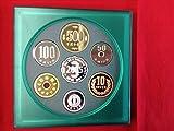 2005年銘テクノメダルシリーズ(3)プルーフセット。純銀メダル入り。定価7,500 希少品