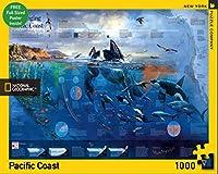ニューヨークパズルカンパニー - ナショナルジオグラフィックパシフィックコースト- 1000ピースジグソーパズル