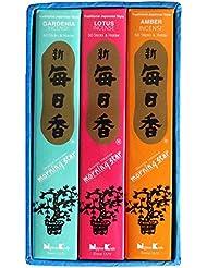 日本香堂 毎日香モスグリーン 大型バラ詰 (約180g)