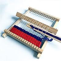 Qiyun DIY Loom Toy DIY Hand-Knitting Wooden Loom Toys Children Weaving Machine Interllectural Development Technology Productioncolour:DIY loom