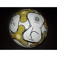 Kickinスポーツイエロー耐久性サッカーボール
