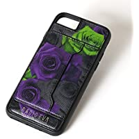 【iPhone8/7/6s/6対応 背面ケース】RADIO EVA(ラヂオエヴァ)×Gizmobies/Card Holder iPhone Case (薔薇)