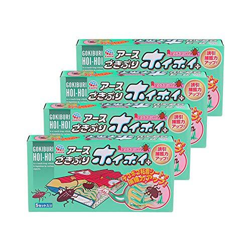 【まとめ買い】ごきぶりホイホイ+デコボコシート [5セット入x4個パック]