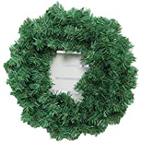 sukidaya クリスマスリース クリスマスオーナメント クリスマス 飾り 玄関 ドア 窓 インテリアの飾り DIY