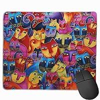 ガトーリブレ マウスパッド 25x30 大判 ノンスリップ 防水 ゲーミング おしゃれ マウスの精密度を上がる