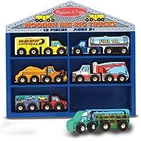 Melissa & Doug Wooden Big Rig Trucks [並行輸入品]