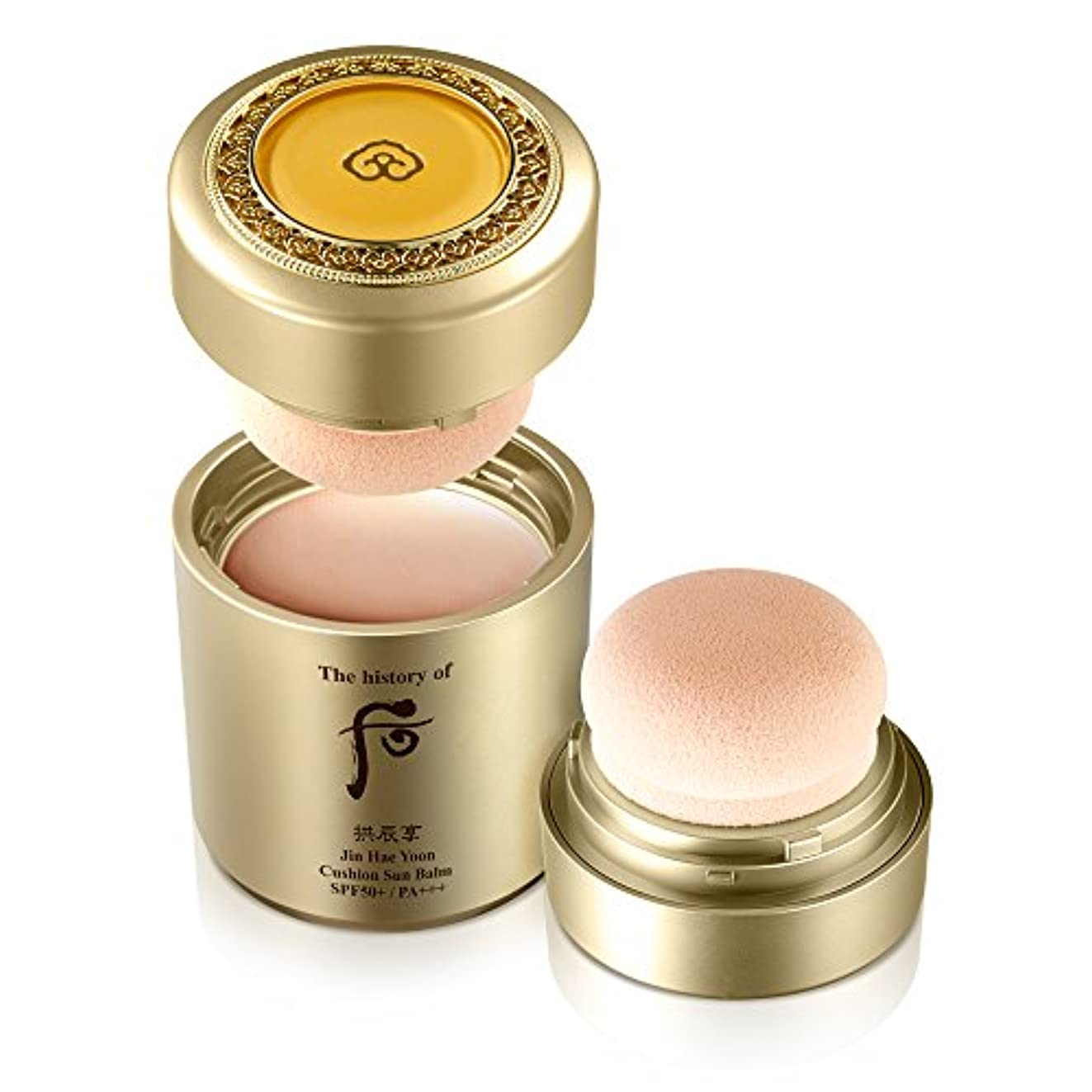 同封するみがきます添付The History of Whoo Gongjinhyang Jinhaeyoon All-in-one Cushion Sun Balm 13g[並行輸入品]