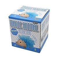 不思議 水の中でクリスタルが育つ マジックアニマル HEDGEHOG (ハリネズミ) ブルー