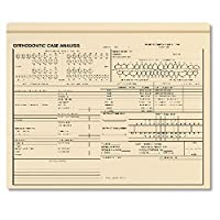 ComplyRight Orthodontic Case Analysis Envelo-File 25PK [並行輸入品]