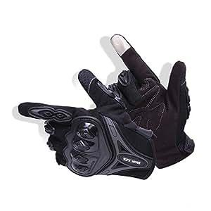 バイクグローブ オートバイ 手袋 テブクロ スマートフォン対応 タッチパネル対応 すべり止め 夏用 耐衝撃 通気性 耐用性