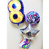 ジオウバルーンギフト「数字のバルーン付 仮面ライダージオウ誕生日祝バルーン」