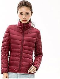 Torisky レディース ダウンジャケット ライトコート 超軽量 アウトドア 登山防風防寒コート便利な収納袋付き便利な収納袋付き 15色