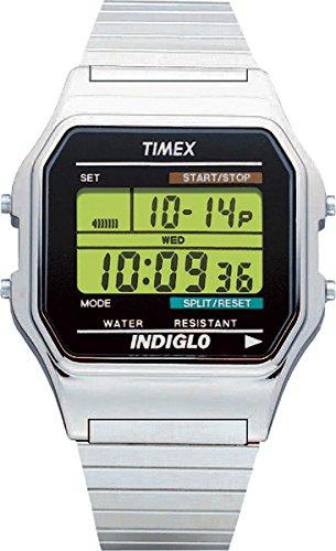 [タイメックス]TIMEX クラシックデジタル オリジナル シルバー メタルエクスパンションベルト T78587 【正規輸入品】