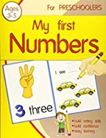 My First Number for preschoolers: Workbook practice books paper for preschool Toddler or kindergarten, PK, K, 1st Grade, Paperback or Kids Age 3-5, Fun with dotted lined sheets,8.5x11 inches