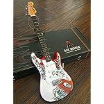 AXE HEAVEN Officially Licensed Jimi Hendrix Mini Fender™ Strat™ Monterey Guitar Model [並行輸入品]