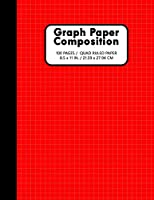 """Graph Paper Notebook 100 Pages / Quad Ruled Paper: 1/4 Squares Grid Paper Composition 0.25"""" 4 Squares Per Inch Grid Lines Ruled Perfect Binding 8.5"""" x 11"""" School Journal For Math Science"""