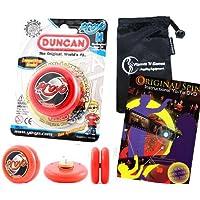 Duncan ProYo YoYo (レッド) Pro文字列Trick YoYos with Travelバッグ+ 75 yo-yo Tricks DVD 。Pro YoYos子供と大人