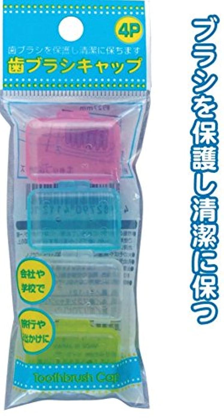 思想タール専門歯ブラシキャップ(4P) 【まとめ買い12個セット】 41-121